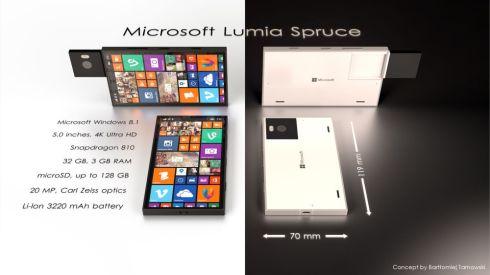 Microsoft Lumia Spruce concept 2