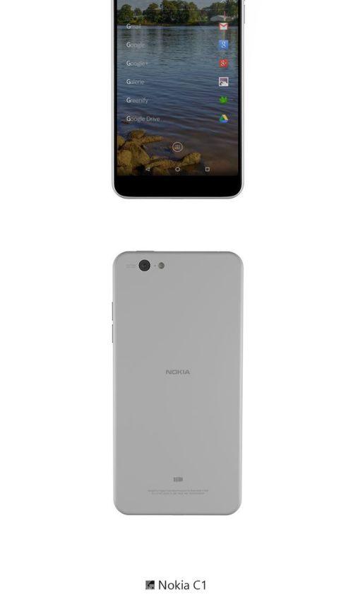 Nokia C1 concept 2