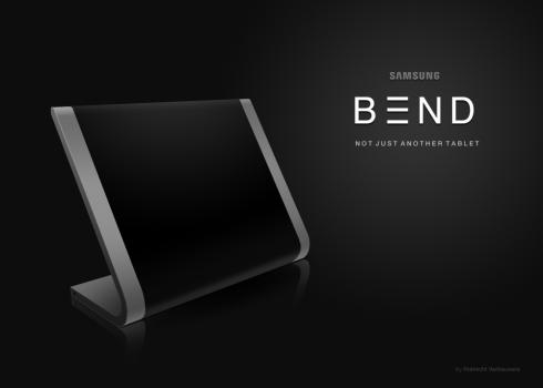 Samsung Bend tablet concept 1