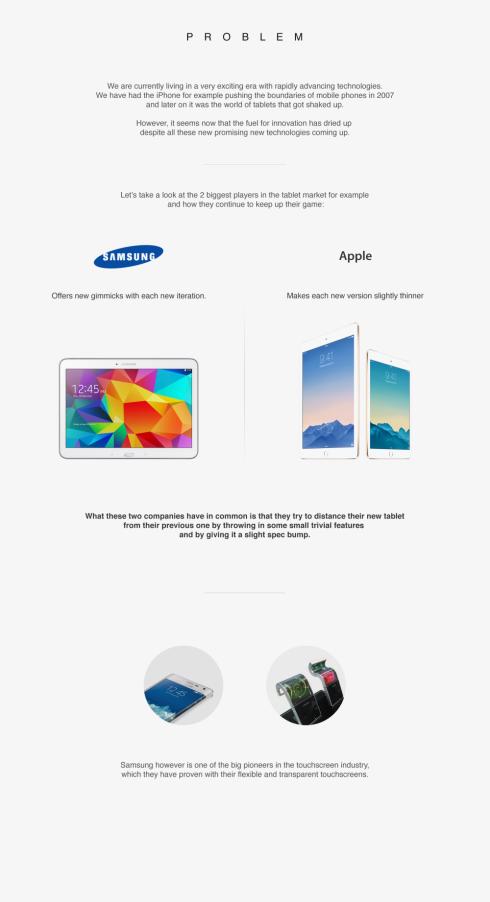Samsung Bend tablet concept 2