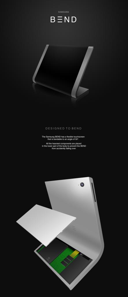 Samsung Bend tablet concept 9