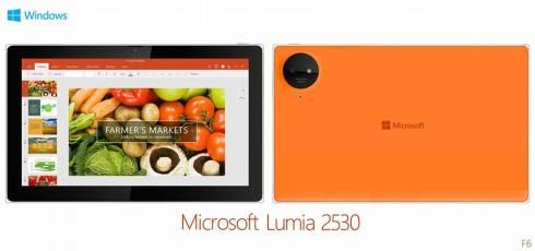 microsoft lumia 2530 tablet concept