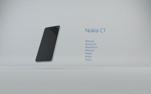 nokia c1 concept phone