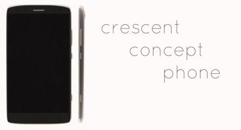 Crescent phone concept 1