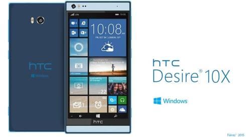 HTC Desire 10X