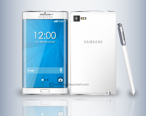 Samsung Galaxy Note 5 concept 2