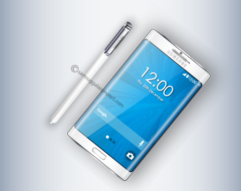 Samsung Galaxy Note 5 concept 7
