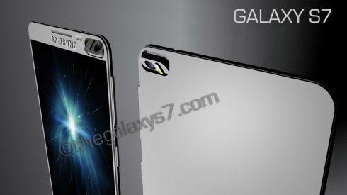 Samsung Galaxy S7 concept rotary 3