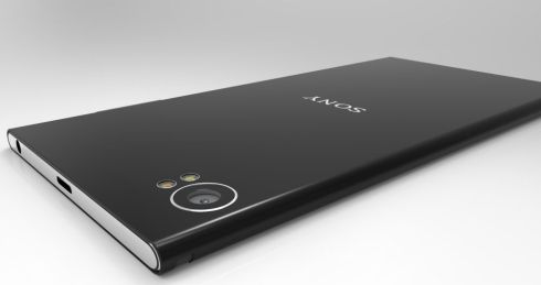 Sony Xperia Curve concept 2