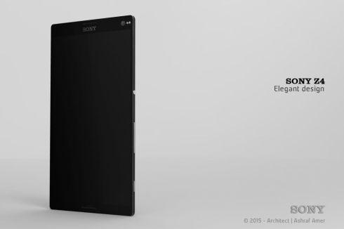 Sony Xperia Z4 concept ashraf amer 6