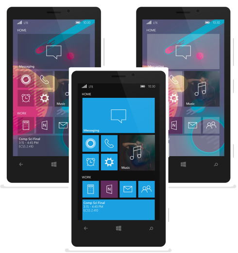 Windows 10 for Mobile concept 2
