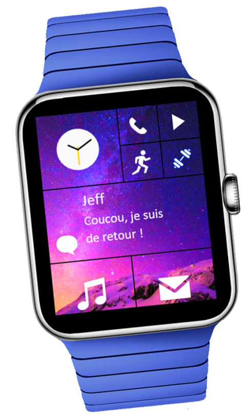 Windows 10 smartwatch concept 1