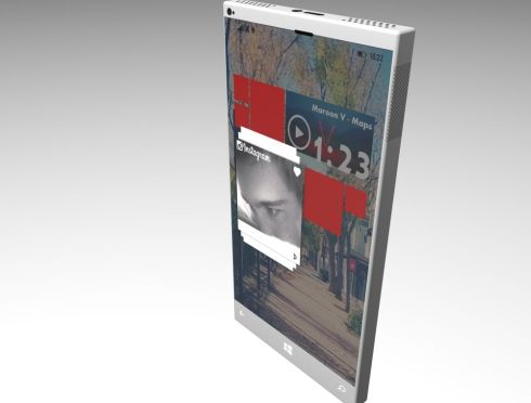 Xbox Lumia One phone concept 1