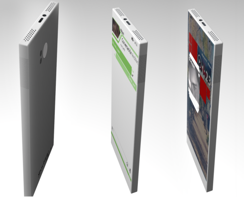 Xbox Lumia One phone concept 2