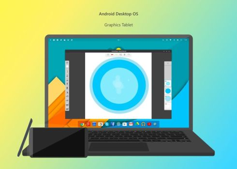 android desktop OS 1