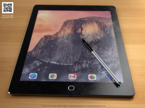 iPad Pro concept stylus Martin Hajek 1
