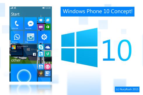 windows phone 10 concept