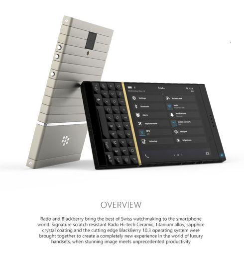 BlackBerry Rado Sintra concept 1