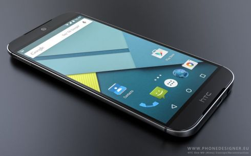 HTC Hima render phone designer 1