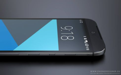 HTC Hima render phone designer 10