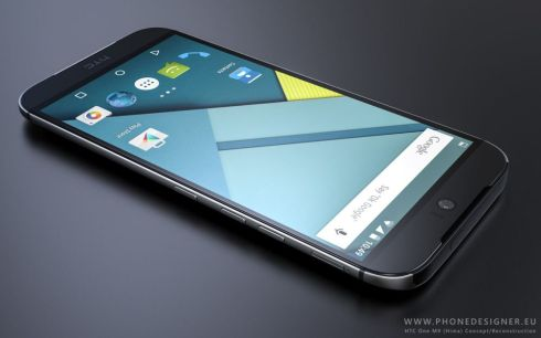 HTC Hima render phone designer 2