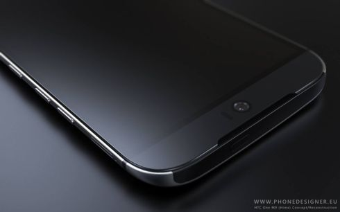 HTC Hima render phone designer 6