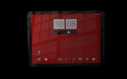 HTC One Carbon tablet concept