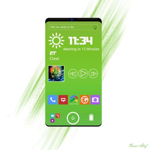 Next gen bendable smartphone 2