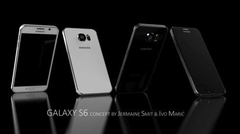 Samsung Galaxy S6 Jermaine Smit Ivo Maric concept 1