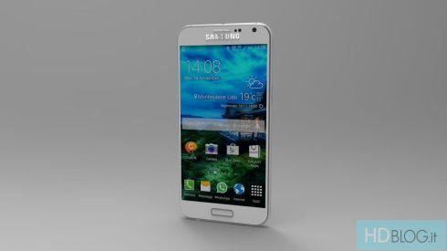 Samsung Galaxy S6 Render Italy 1