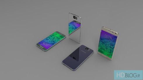 Samsung Galaxy S6 Render Italy 5
