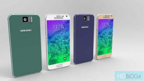Samsung Galaxy S6 Render Italy 6