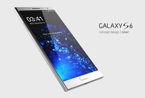 Samsung Galaxy S6 concept design 1