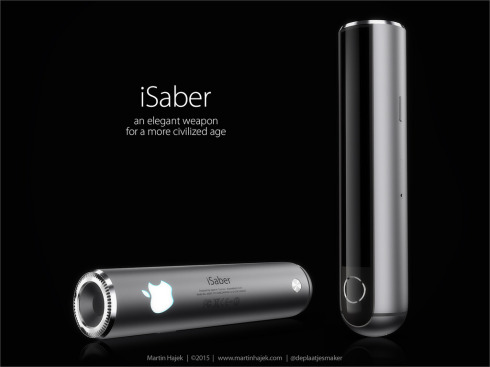 Apple iSaber light saber concept 1
