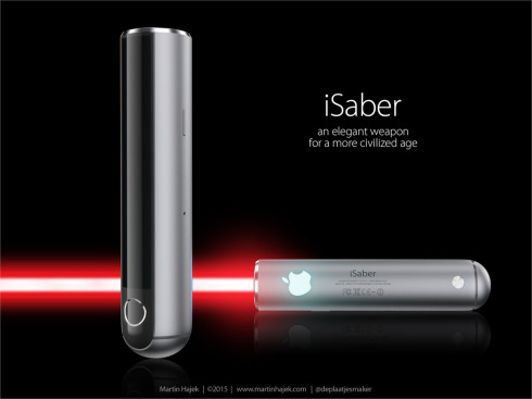 Apple iSaber light saber concept 3