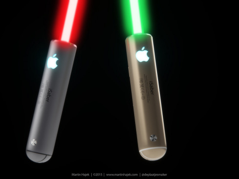 Apple iSaber light saber concept 4