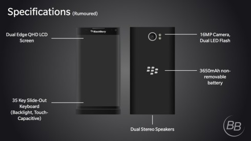 BlackBerry Glide slider concept 4