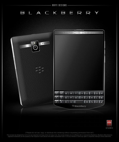 BlackBerry Porsche Design P9984 concept 1