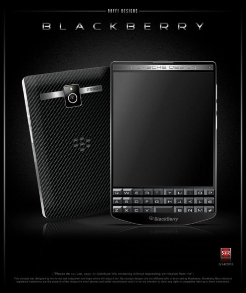 BlackBerry Porsche Design P9984 concept 2