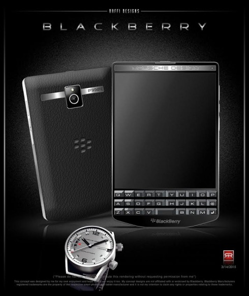 BlackBerry Porsche Design P9984 concept 3