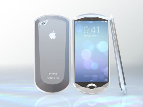 Crystal iPhone concept design 1