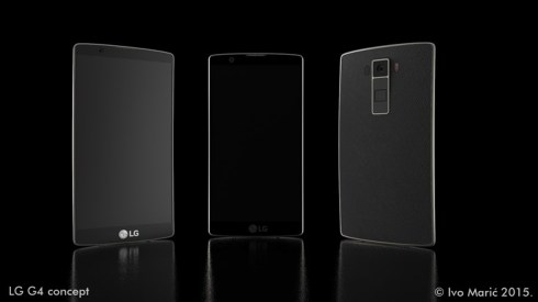 LG G4 concept Ivo Maric 5
