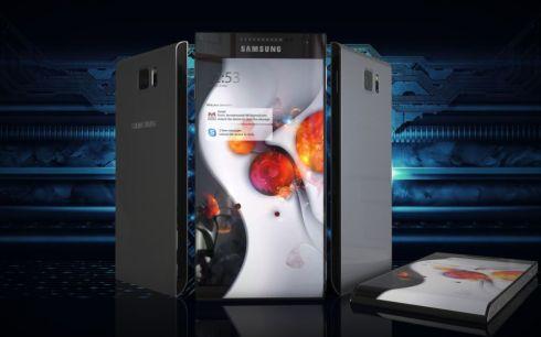 Samsung Galaxy Round 2 concept 1