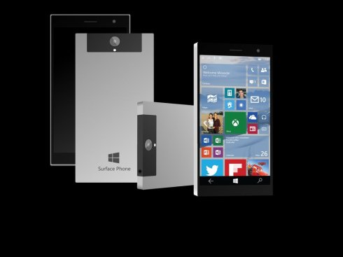 Surface Phone 10 concept