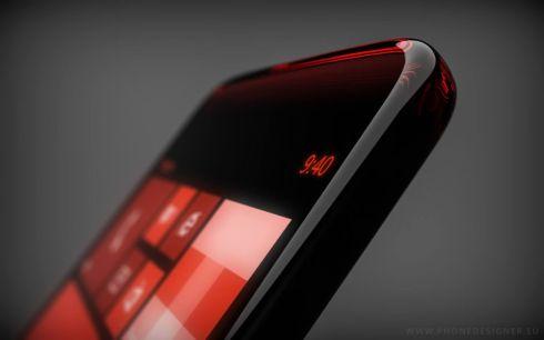 Transparent Windows Phone concept 1