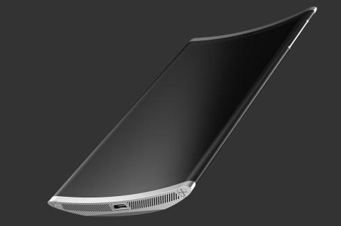 Wedge smartphone concept 1