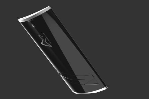 Wedge smartphone concept 2