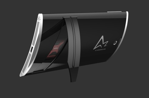 Wedge smartphone concept 3