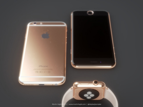 iPhone 6s rose gold concept 2