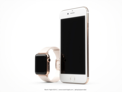 iPhone 6s rose gold concept 3